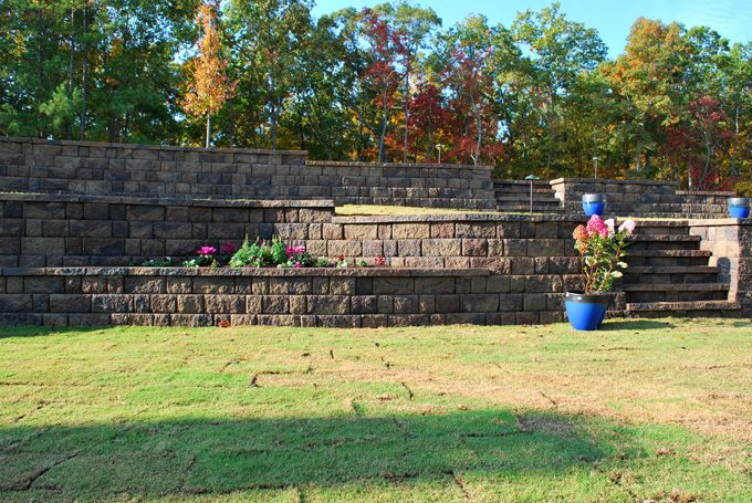 retaining wall details