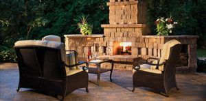 Belgard fire place example