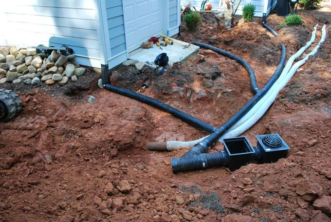 whole yard drain systems