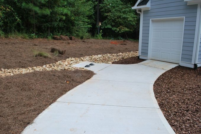drainage and erosion solutions using creek beddrainage solutions