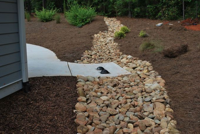 dry creek bed erosion solution