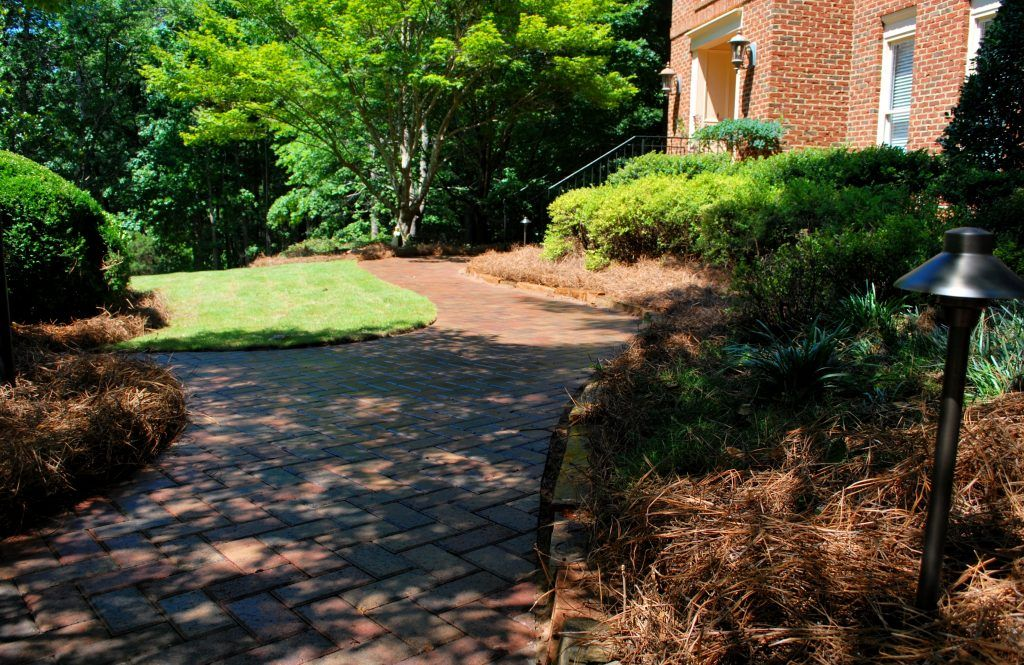 landscaping & garden lighting for paths and walkways