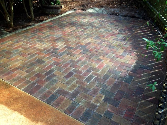 hardscape patio pavers