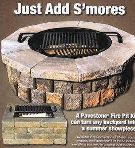block fire pit kit