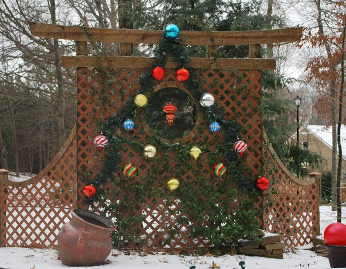 seasonal displays in the landscape