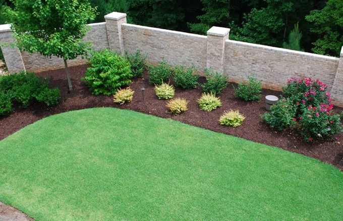 mature zoysia sod installed by peachtree city landscaper