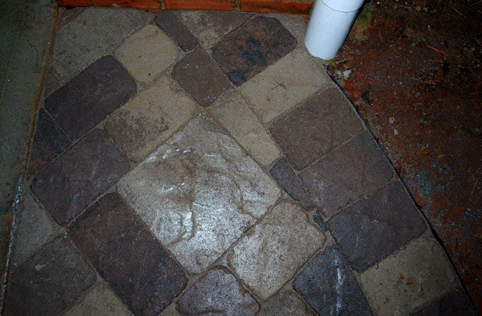 custom cutting for concrete pavers