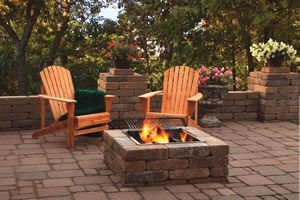 Fayetteville, Peachtree City, Sharpsburg, Newnan, fire pit-patio-wall