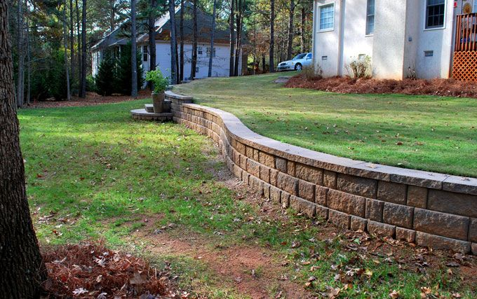 Fayetteville GA Retaining Wall Contractors