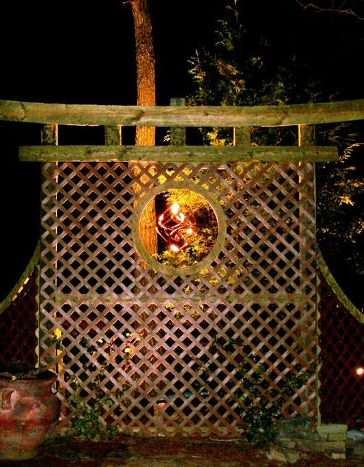 landscape lighting for special features