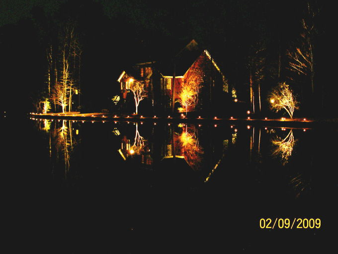lakeside landscape lighting
