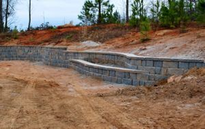 Fayetteville, Peachtree City, Sharpsburg, Newnan, retaining wall design