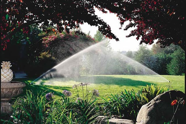 sprinkler system design and installation