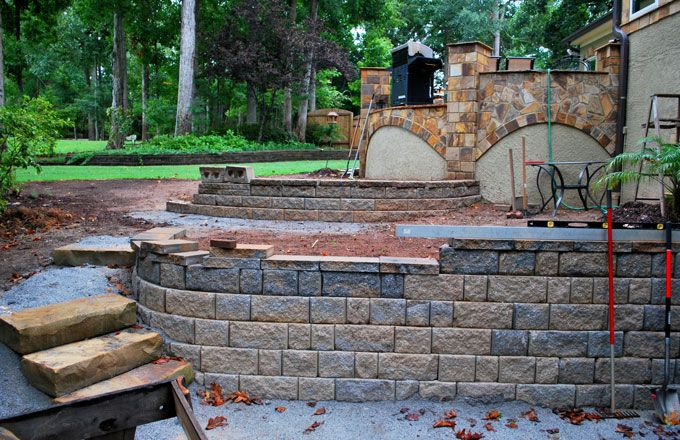 """6"""" and 8"""" block retaining wall comparison"""