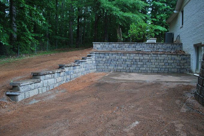 replace rail road tie wall